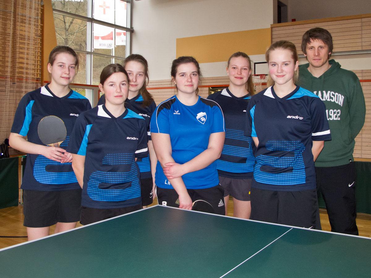 Gymnasium Edenkoben titelverteidigung im doppelpack schulsport tischtennis