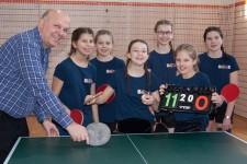 Siegerinnen Mädchen: Bischöfliches Cusanus-Gymnasium Koblenz